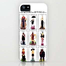 Witches are bitches  iPhone Case