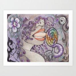 Loly Art Print