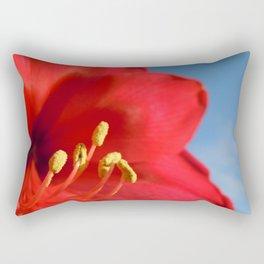 Amaryllis Flower Rectangular Pillow