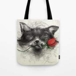 Valentine's Fox Tote Bag