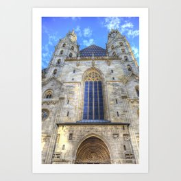 St Stephen's Cathedral Vienna Art Print