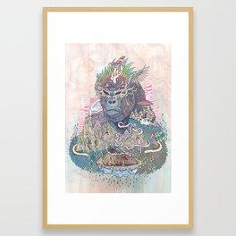 Ceremony Framed Art Print