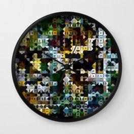 Formula XII Wall Clock