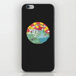 Life is All Right (Color) iPhone Skin