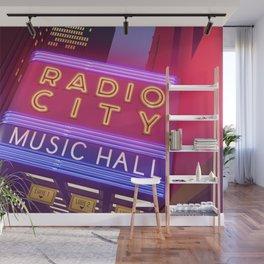 Radio City Music Hall Wall Mural