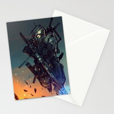 Heavy Fire Stationery Cards