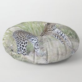 Leopard Floor Pillow