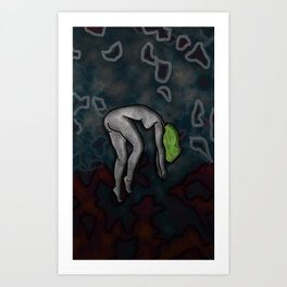 captured Art Print
