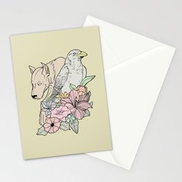 si canem corvus Stationery Cards