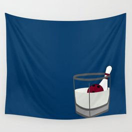 Hey, careful, man, there's a beverage here!  Wall Tapestry