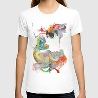 archan nair T-shirts featuring Drifting Particles by Archan Nair