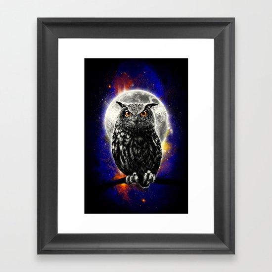 'The Watcher' Framed Art Print