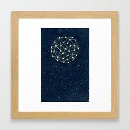 Night Constellation  Framed Art Print