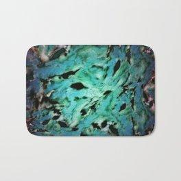 Smash smash turquoise Bath Mat