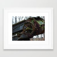 top gear Framed Art Prints featuring gear by Dantastic Photos