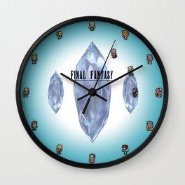FF Sprite Clock Wall Clock