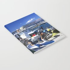 Fishing boats of Corfu Town Notebook