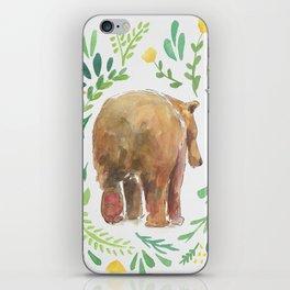 Watercolor Bear iPhone Skin