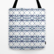 blue iron II Tote Bag