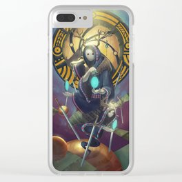 The Dreamteller of Dejavu Clear iPhone Case