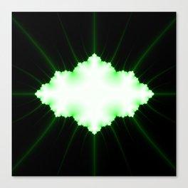 green vission Canvas Print