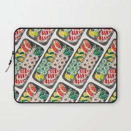 Sushi Collection – Black Platter Laptop Sleeve