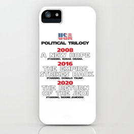 USA Presidential trilogy iPhone Case