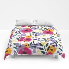 Spring Floral Bouquet Comforters