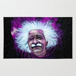 Albert Einstein Nebula Rug