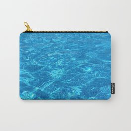 waves gently splashing on the beach - it's time to make a wish Carry-All Pouch