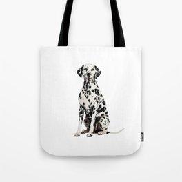 Cute Dalmatian 7 Tote Bag