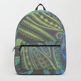Lazy Days - Teal  Backpack