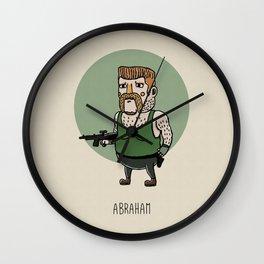Abraham Wall Clock