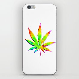 Cannabis Rainbow Design (36) iPhone Skin