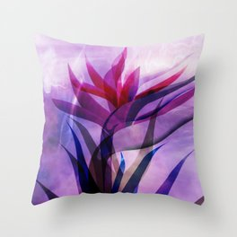 the call of the flora Throw Pillow