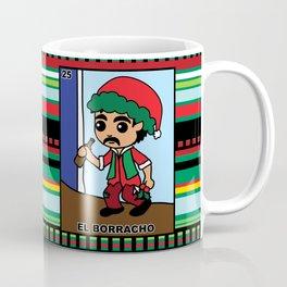 Christmas Loteria El Borracho Coffee Mug