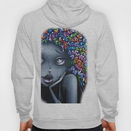 girl letters grafitti Hoody
