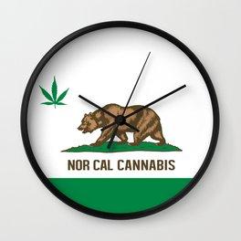 Nor Cal Cannabis Wall Clock