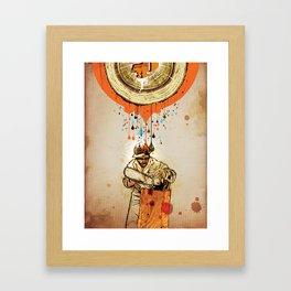 """The Blood & Sap Beneath Me"" Framed Art Print"