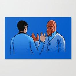 Salute Canvas Print