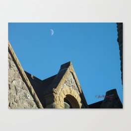 Seminary Moon Canvas Print