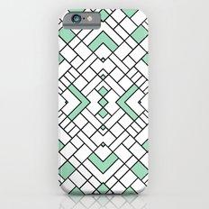PS Grid 45 Mint Slim Case iPhone 6s