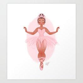 BALLET SLIPPERS Art Print