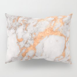Copper Marble Pillow Sham