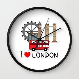 I love London Wall Clock