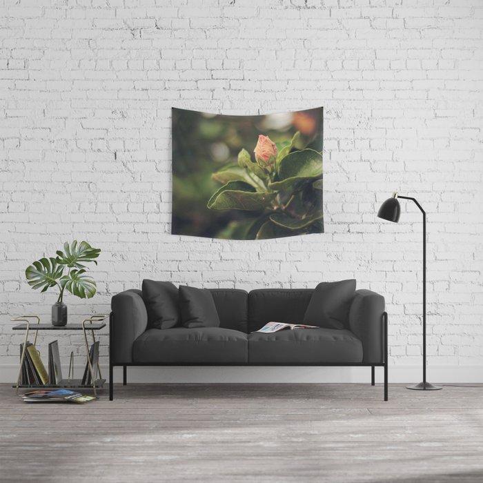 Capullo de Hibisco - Hibiscus bud Wall Tapestry