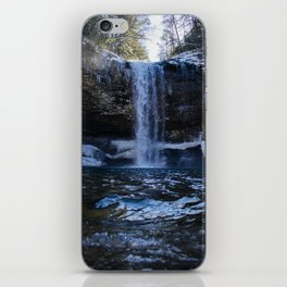 Cloudland Canyon Waterfall iPhone Skin