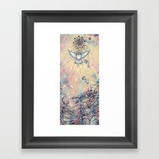 Be the light Framed Art Print