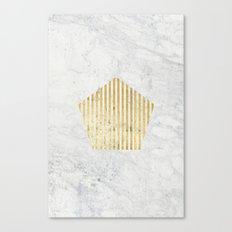 penta gOld Canvas Print