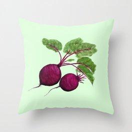 beetroot Throw Pillow